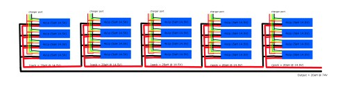 small resolution of the lipo 4s1p pack wiring plan the electric chronicles power in flux li ion battery balance diagram lipo battery pack wiring diagram