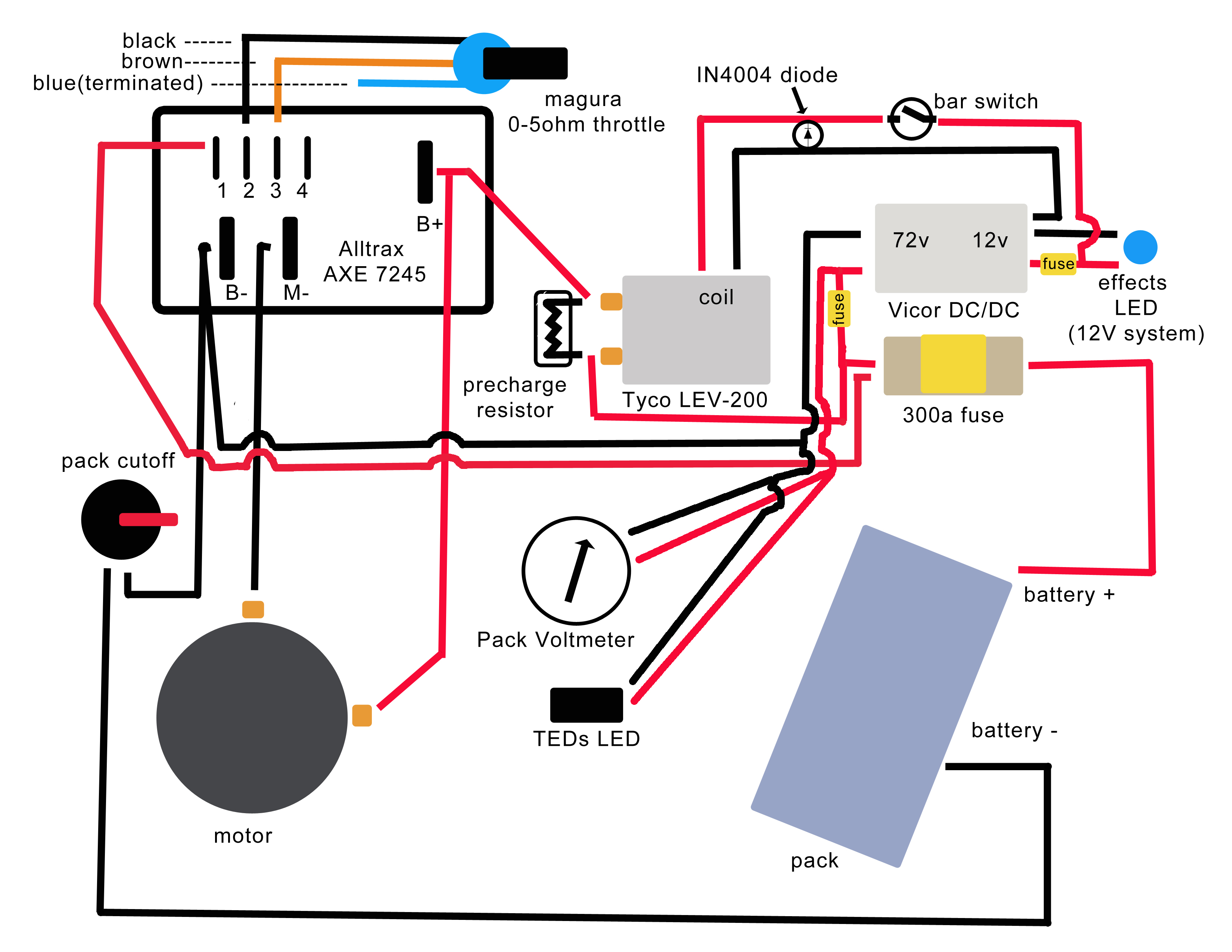 medium resolution of solarfest build your own electric motorcycle resources and links wiring a homeline service panel 72v wiring