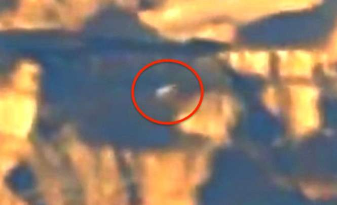 Над Большим Каньоном США заметили два НЛО