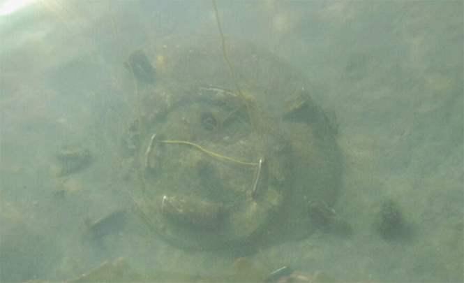 Загадочный люк обнаружили на дне моря дайверы из Новороссийска