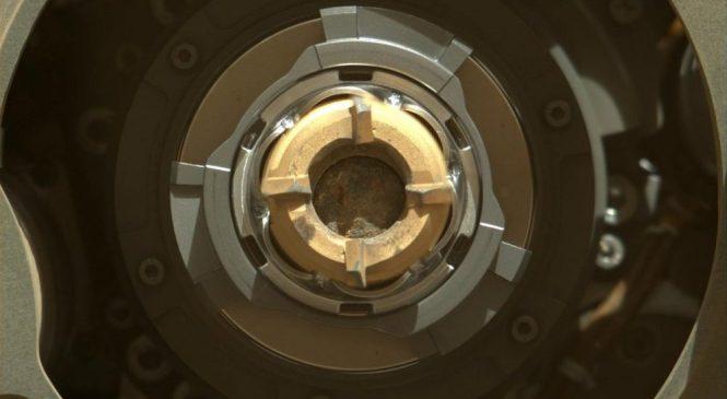 Марсоход НАСА извлекает первые образцы горных пород со второй попытке
