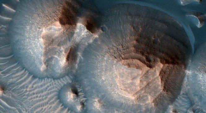Подтверждено, что были тысячи массивных древних извержений вулканов на Марсе