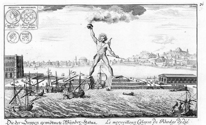 Куда подевался бронзовый «Колосс Родосский», чья высота достигала 33 метров?