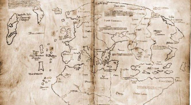 Карта Винланда оказалась фальшивкой