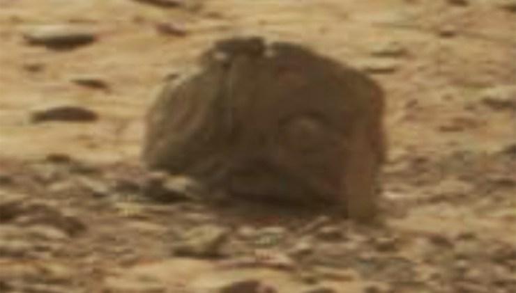 Марс: Статуя пришельца, захваченная марсоходом Perseverance?