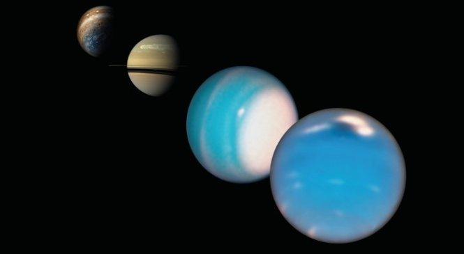 Сушеные шарики спрятаны без аммиака на Уране и Нептуне