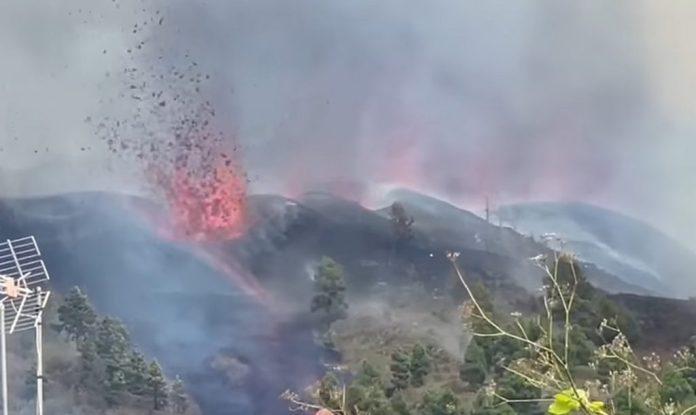 извержение вулкана ла пальма 19 сентября 2021 г., извержение вулкана ла пальма 19 сентября 2021 г. видео, видео вулкан ла пальма, извержение вулкана видео вулкана