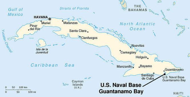Есть ли в заливе Гуантанамо подводная база НЛО?