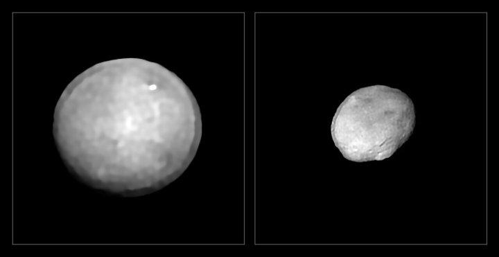 Астрономы опубликовали 42 самых четких на сегодняшний день изображений астероидов, раскрывающих интересные особенности