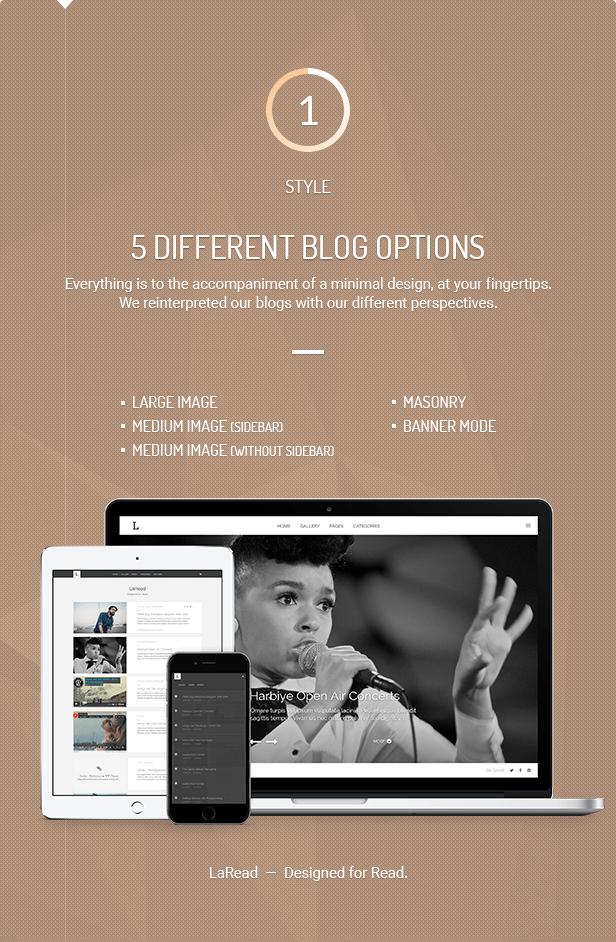 LaRead — WordPress Blog Theme - 3