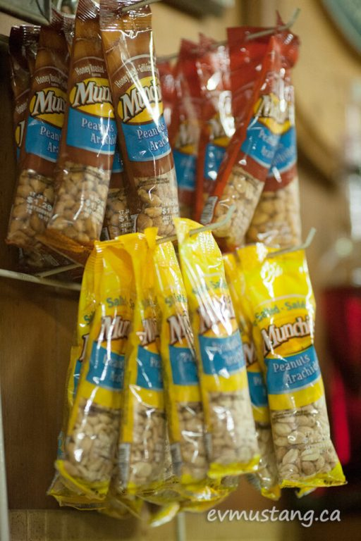 image of packaged peanuts