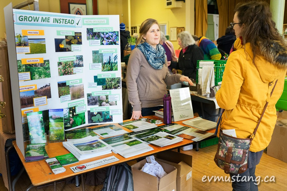 image of booth for ontario invasive plants