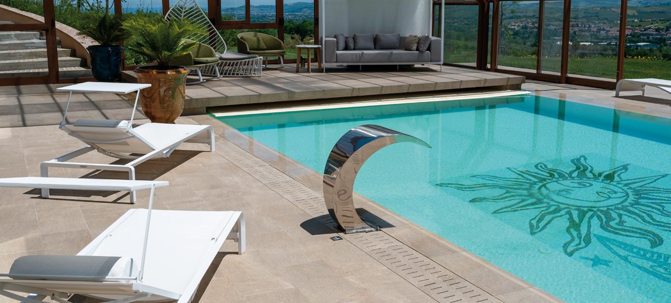swimming pool tiles and flooring