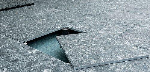 Sistemi di Posa pavimenti esterno  EVO_2E Mirage