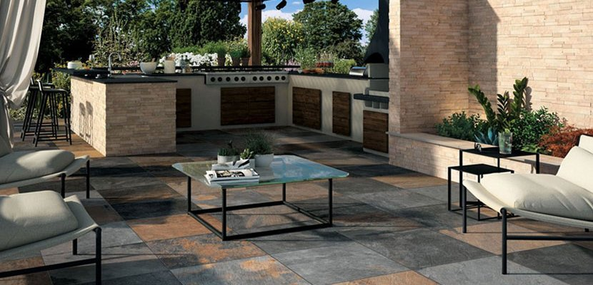 Outdoor Tiles made from Stylish Ceramic  Mirage