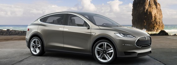 Image Credit: Tesla Motors Model X