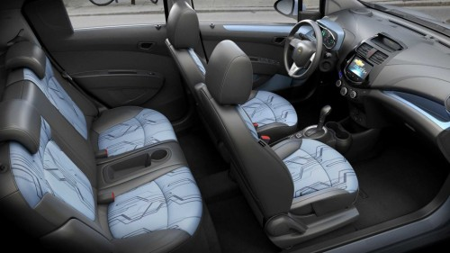 Chevy Spark EV seats 4