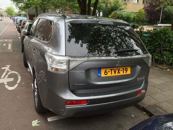 Mitsubishi Outlander Plug In Netherlands 3