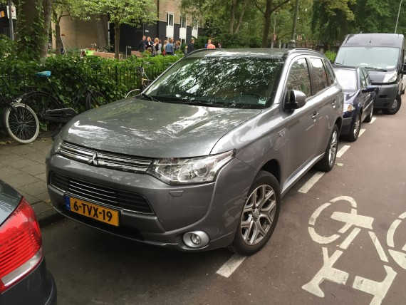 Mitsubishi Outlander Plug In Netherlands 4