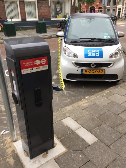 Smart Electric Charging Amsterdam