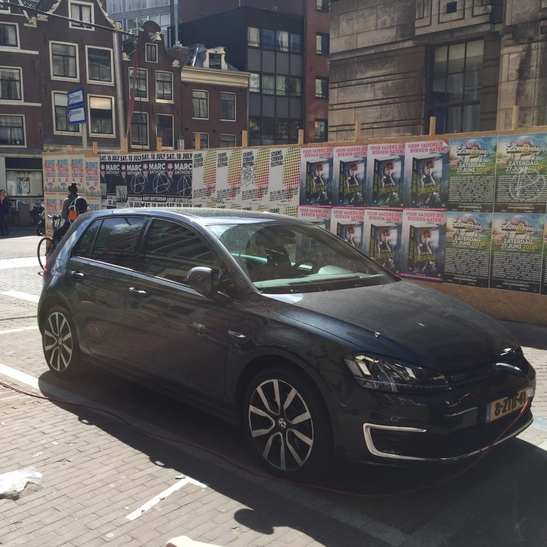 VW Golf GTE Dark Amsterdam
