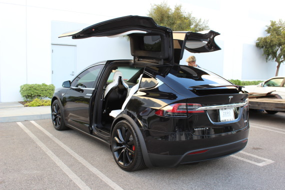 Zach Model X behind