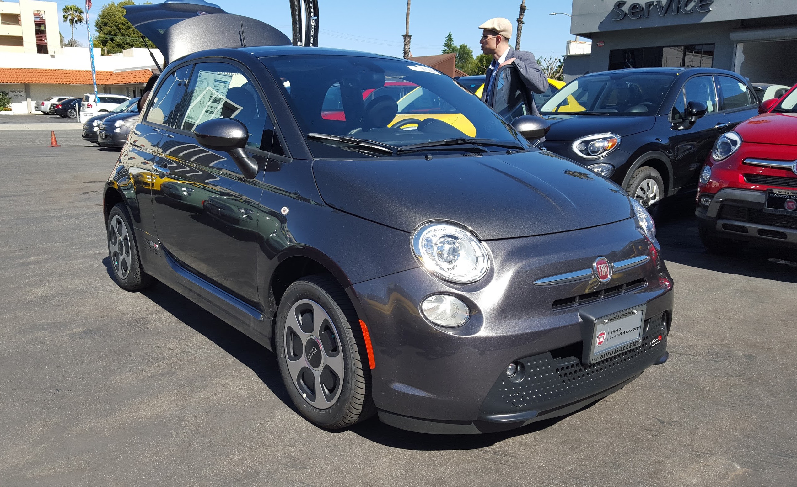 it electric electrifying is fiat roadbeat price