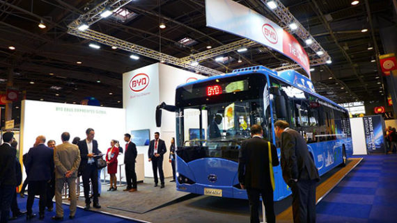 BYD electric bus 2