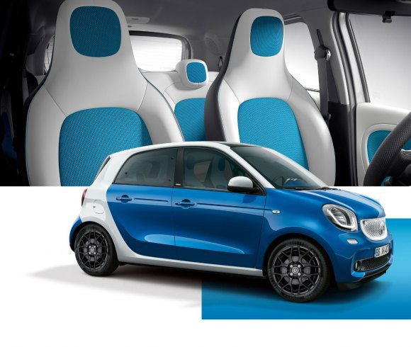 daimler announces all electric versions of forfour cabrio. Black Bedroom Furniture Sets. Home Design Ideas