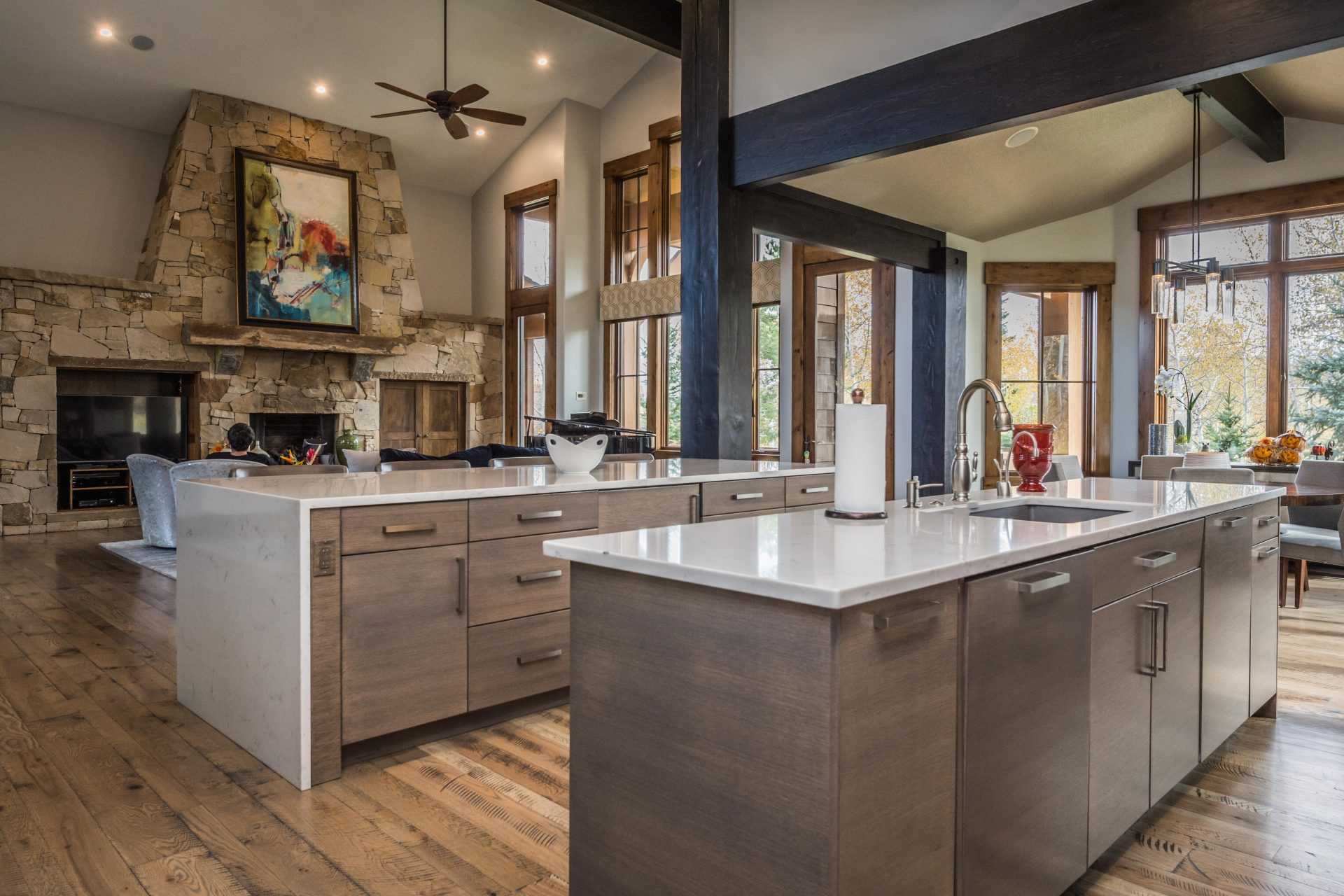 park city kitchen remodeling - evolution design build group
