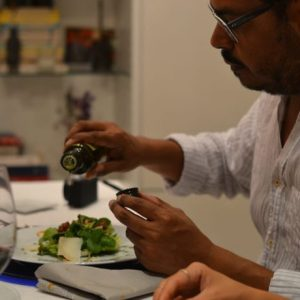 Guest-tasting-our-Barcelona-salad