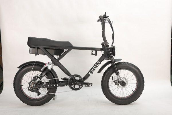 fatbike, evolt bike, elcykel