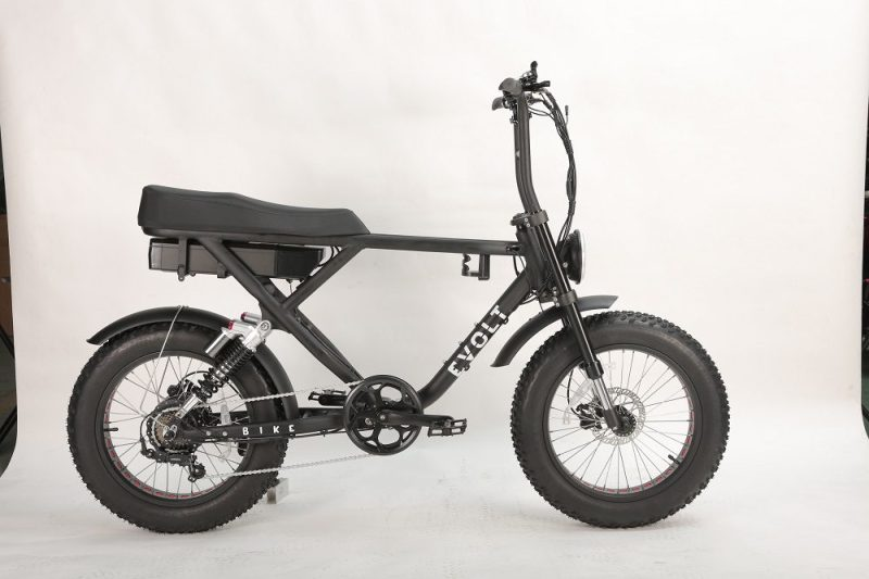 elcykel, fatbike, evolt