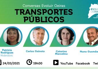 cartaz webinar transportes públicos