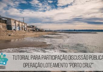 tutorial discussão pública Porto Cruz