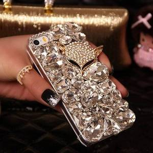 Luxury Fashion Crystal Women Phone Case Mobile Phone Accessories Phone Cases & Cover 1afa74da05ca145d3418aa: 1|2