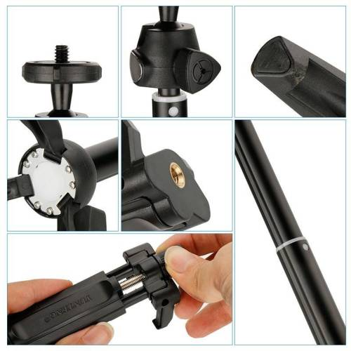Wireless Mini 3 in 1 Bluetooth Selfie Stick Tripod Monopod for iPhones & Android Mobile Phone Accessories Selfie Sticks & Tripods 1ef722433d607dd9d2b8b7: China|Russian Federation|United States