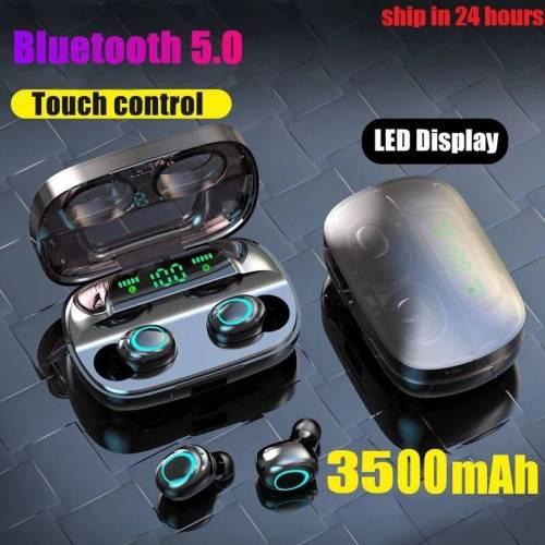 3500mAh LED Bluetooth Wireless Earphones Touch Control Sport Noise Cancellation Earphones & Headphones cb5feb1b7314637725a2e7: M11 Dual ear LED B|S11 Dual Ear B|S11 Dual ear LED B|S11 Dual ear LED W|S11 Dual Ear W|S11 Single Ear B|S11 Single Ear W