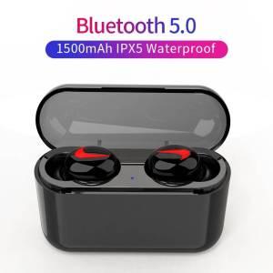 Bluetooth Wireless Sport Earbuds Stereo – Handsfree Headphone With Mic Charging Box Earphones & Headphones cb5feb1b7314637725a2e7: Hook black|Hook white|Single Hook black|U black