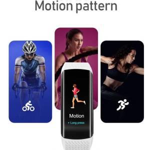 Smart Fitness Bracelet Blood Pressure Fitness Tracker – Waterproof Smart Band Watch Wrist Watches cb5feb1b7314637725a2e7: Add 5 straps|Add a deep blue|Add a gray strap|Add a light blue|Add a pink strap|Add a white strap|Black|Deep Blue|gray|Light blue|Pink|WHITE