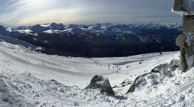 Ski Roadtrip: Day 2, Whistler
