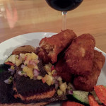 Blackened Salmon at Chubby Funster