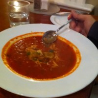 eleven22: Roasted Red Pepper Tomato Soup