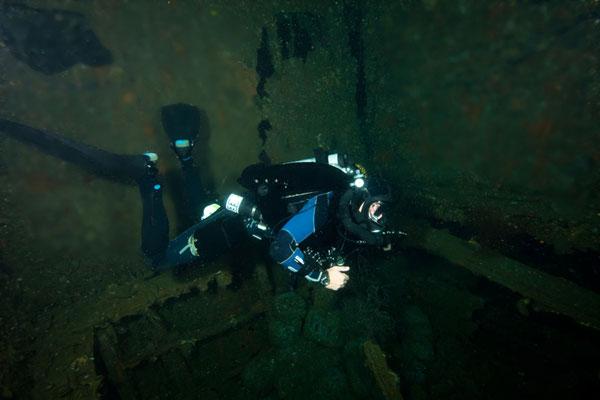 Dona Marilyn wreck dive site malapascua philippines