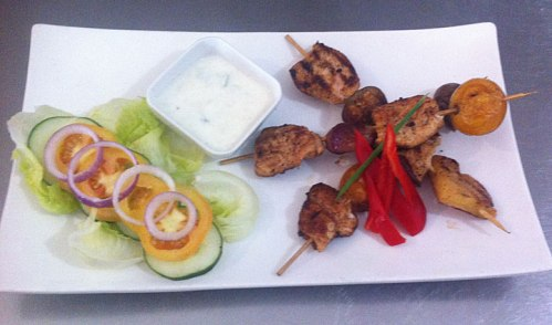 craic house chicken skewers