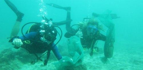 clean up dive malapascua