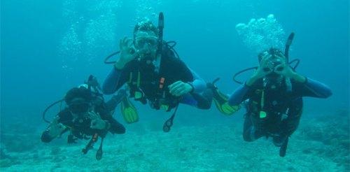 correct scuba diving trim