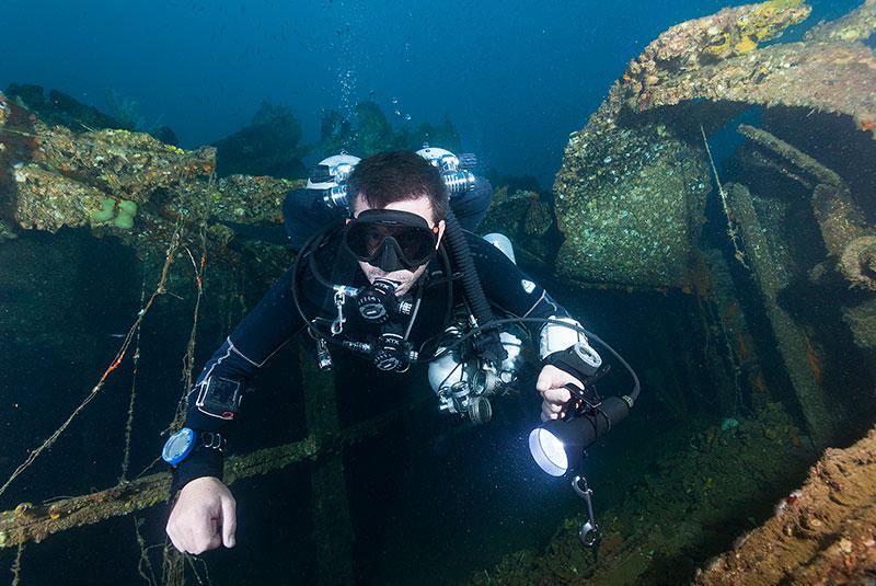 david joyce technical diving instructor evolution diving resort