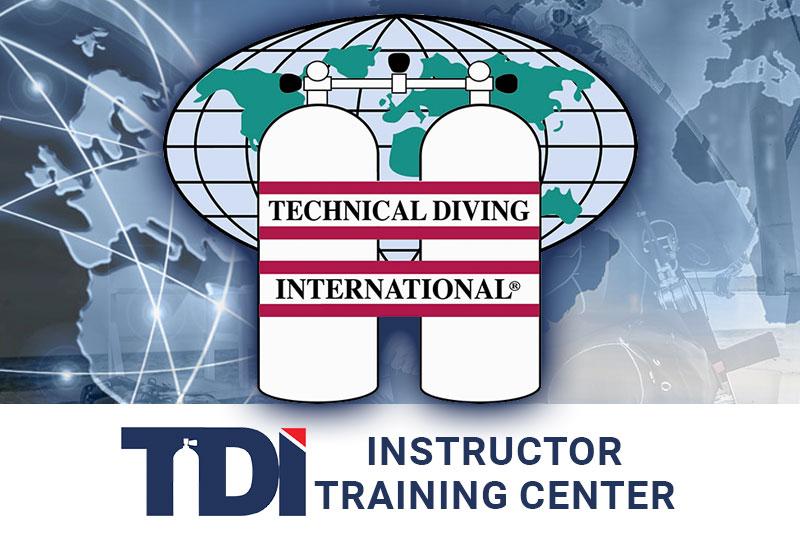 evolution diving resort tdi tech diving instructor training center