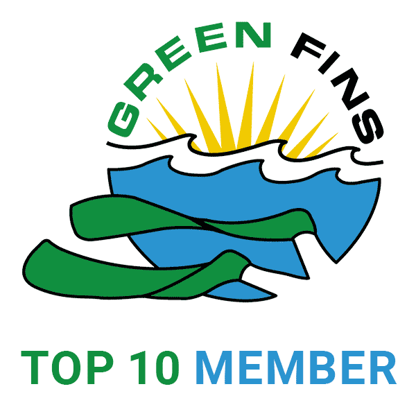 green fins top ten member